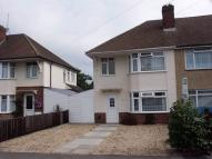 Eastleigh semi detached house to rent