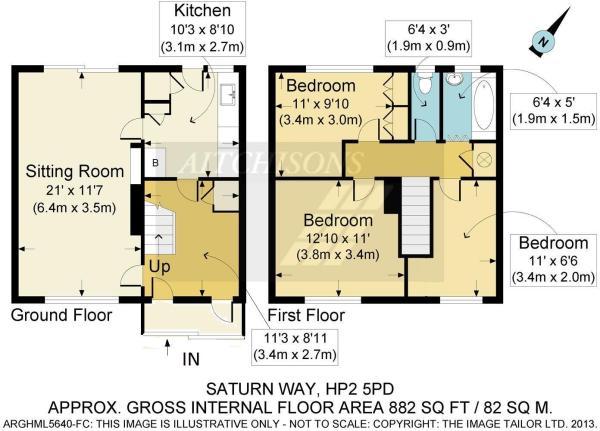 saturn way floorplan