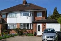 semi detached home to rent in Hensor Road, Bourne End...