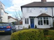 3 bedroom semi detached home in Beaumont Avenue...