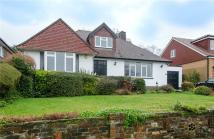 Bungalow for sale in Meadow Close, Hove...