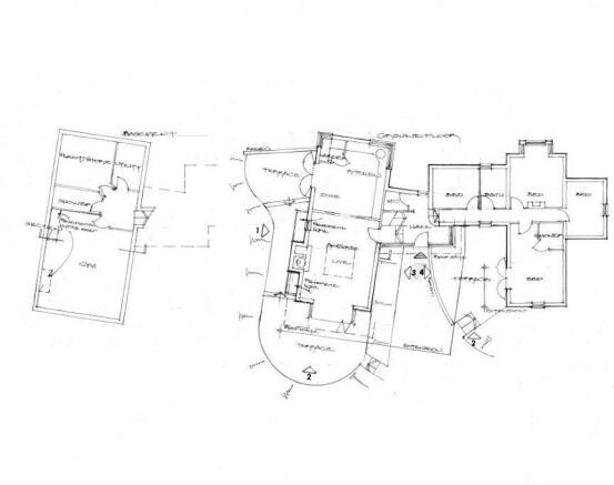 Floor plan - lodge