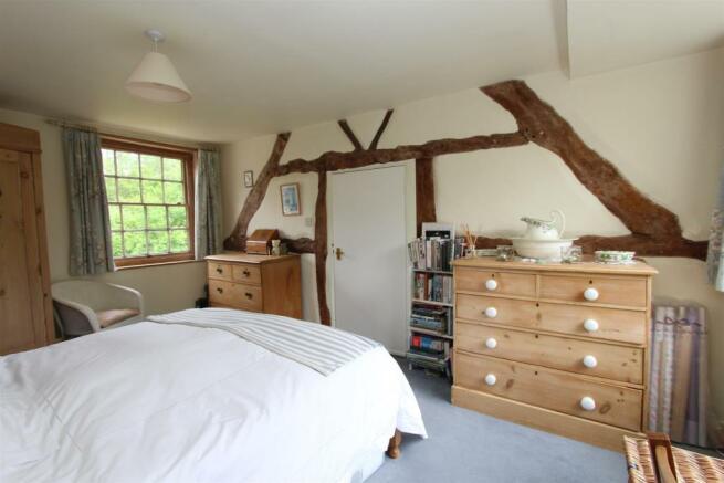 Mole End Cottage bed