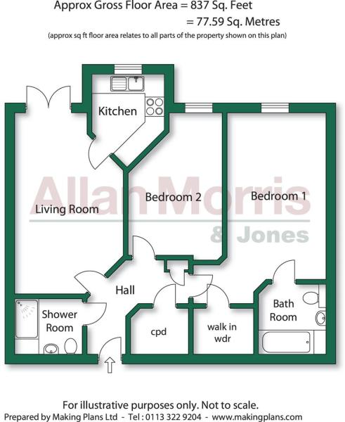 2 Bed Lowestone Cour