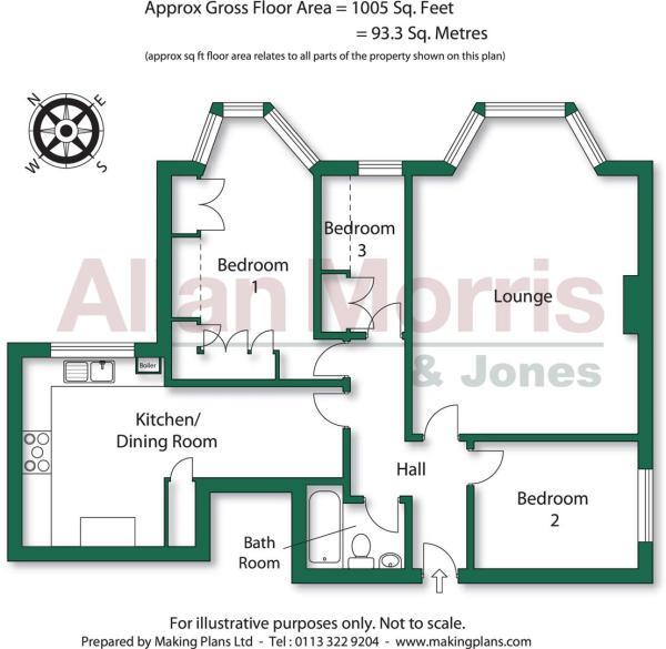Flat 1 25 High Street.Floorplan latest 19.8.2016.j