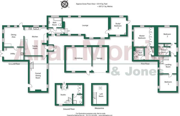 The Steps. Floorplan