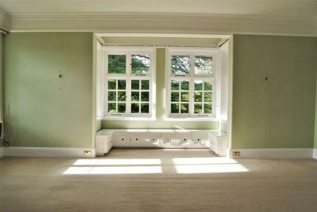 green bedroom ...