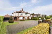 Detached house in Portsdown Hill Road...