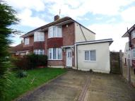 semi detached house in Orchard Way...