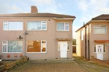 3 bedroom semi detached home in Warwick Avenue, Harrow...