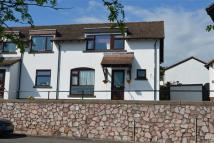 semi detached home for sale in Oakland Drive, Dawlish