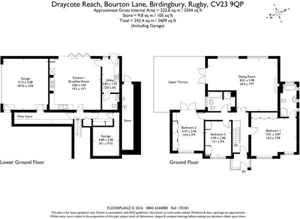 Draycote Reach 17018