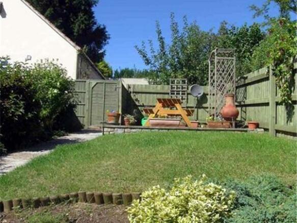 Rear garden (s...