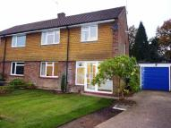 Chestnut Copse semi detached property to rent