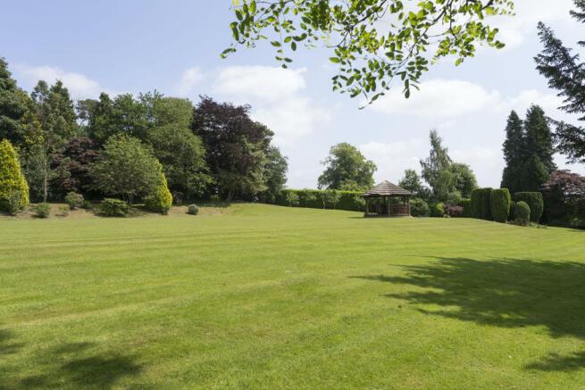 Bradley Hall gardens
