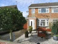 3 bedroom semi detached home in Croft Close...