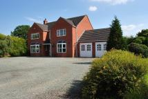 Detached home in Moss Lane, Bettisfield