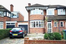 semi detached home for sale in Cannonbury Avenue...