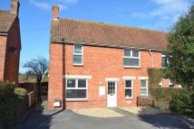semi detached house in Taunton Road, Ashcott
