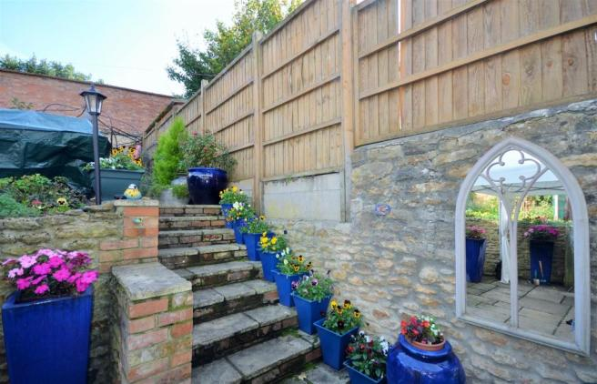 Steps to the Rear Garden