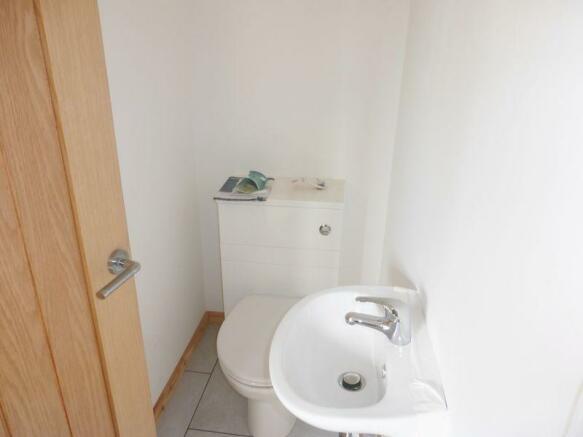 upstairs toilet