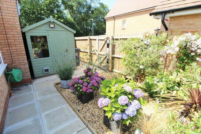 Side Garden Area