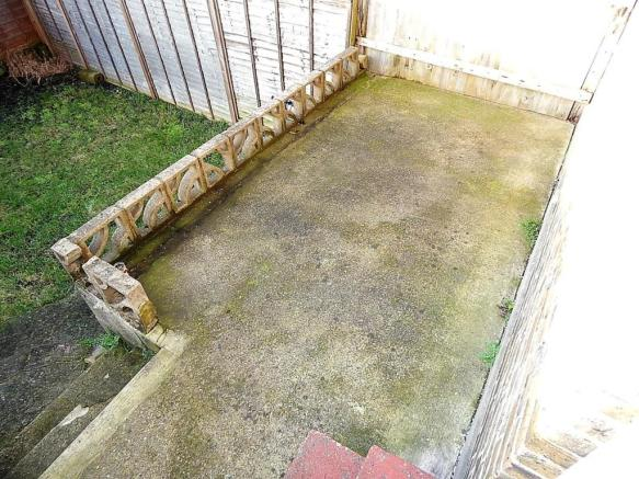 Patio with Potential