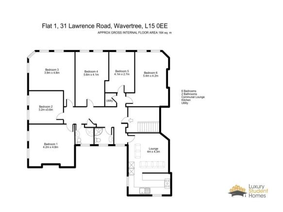 Flat 1, 31 Lawrence Road - L15 0EE