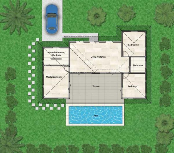Villa Luise Plan