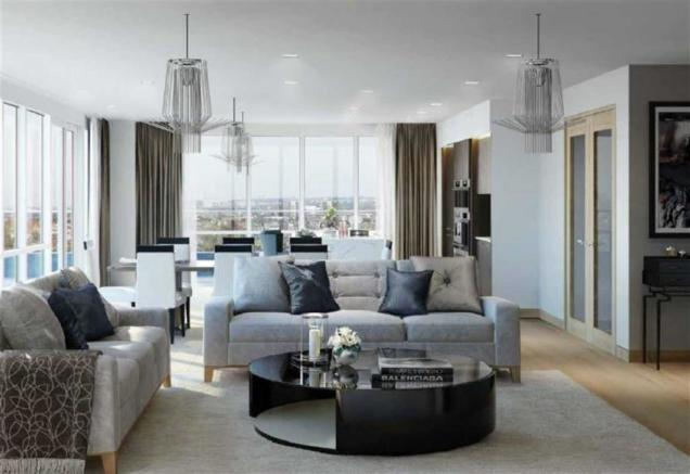 bedroom apartment for sale in Lancaster House, Hammersmith, London ...