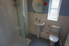 En suite double shower room