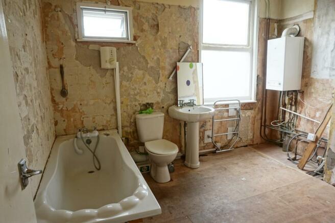 Bathroom 2 in ptocess of renovation