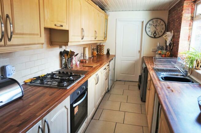 Modern style Galley Kitchen