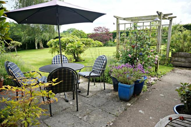 Garden View and Patio