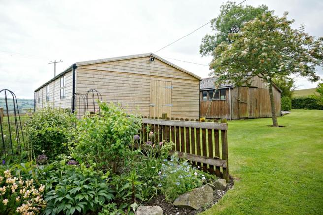 Sheds and Garden View