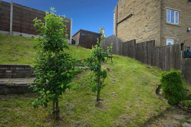 Side Garden Area (Planning Permission Plot)
