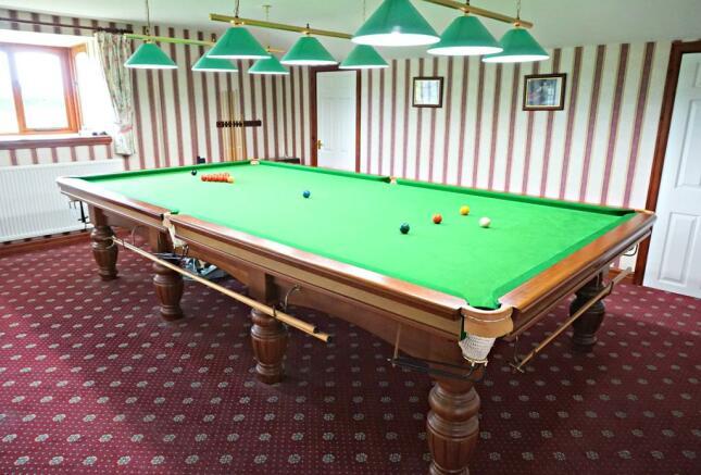 Bedroom  Snooker Room