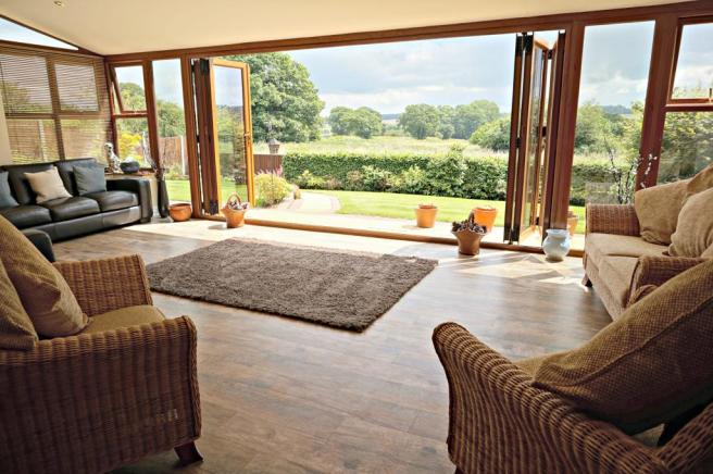 Garden Room with stunning views