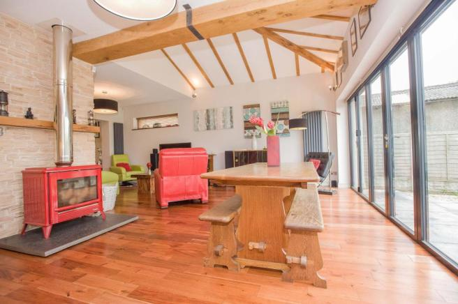 Dining area.  Lancaster Road. Carnforth Estate agents. YOPA