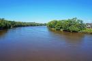 Surrounding Area. Bridge. River Preston