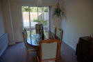Dining Room with patio doors