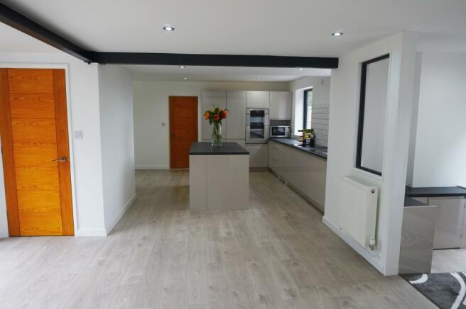 Lounge through Kitchen