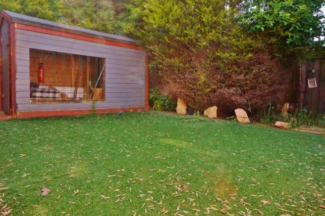 Rear garden.Ribble View Close. Warton Estate agents. Freckleton Estate agents. YOPA..JPG