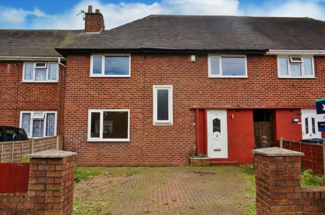 Front. Branstree Road.  Blackpool Estate agent. YOPA