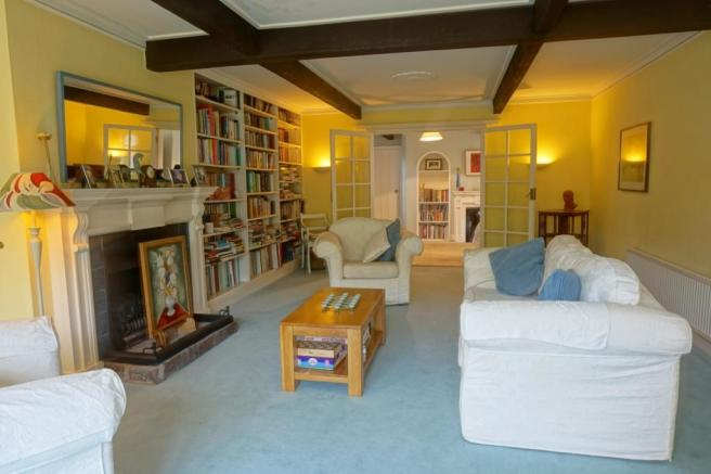 Drawing Room into Sitting room
