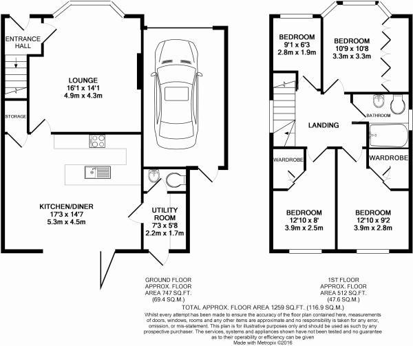 Fern Avenue Floor plan.JPG