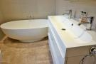 Solid Stone Bath & Duel Sink