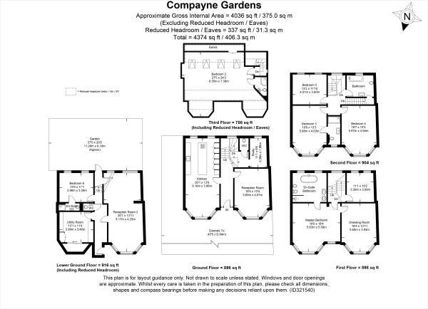 Compayne Gardens floorplan