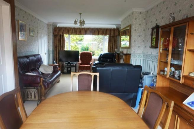 THROUGH LOUNGE DINING ROOM