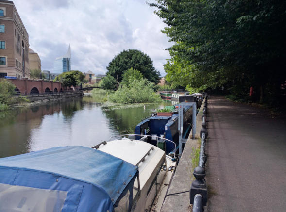 Riverside Walk To Town Centre
